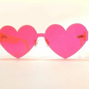70334da7a4b HANNY AHERN  PINK HEART SUNGLASSES – REVERSE