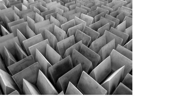 Concrete Sound (detail of installation)