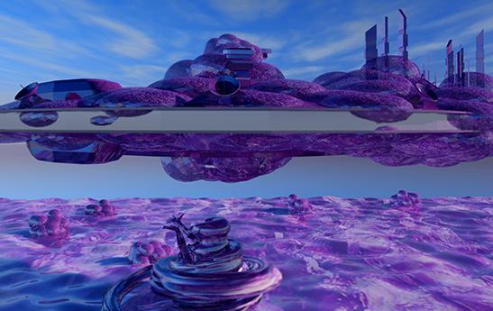 Alien Ship (still)